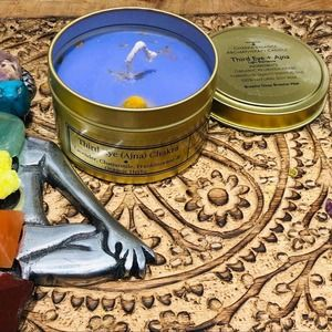 Lavender & Frankincense   Soy Candle Aromatherapy